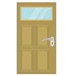玄関リフォームでのドア